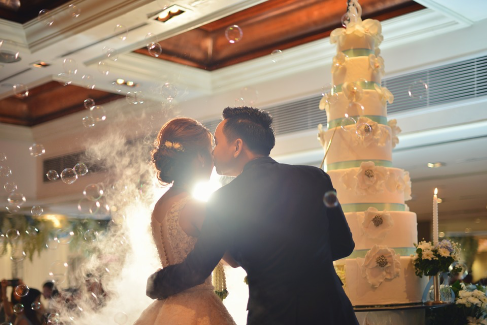 Wedding Venue - Bride and Groom