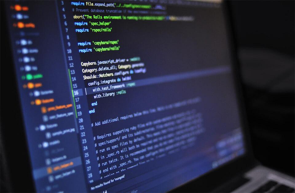 web development languages