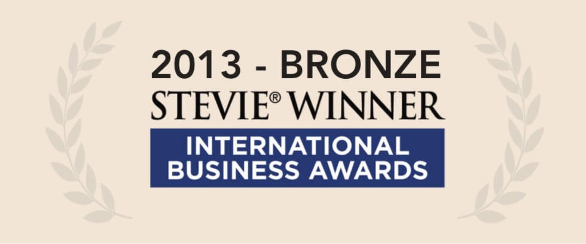 Blue Beetle Wins A Bronze Stevie Award In 2013 International Business Awards